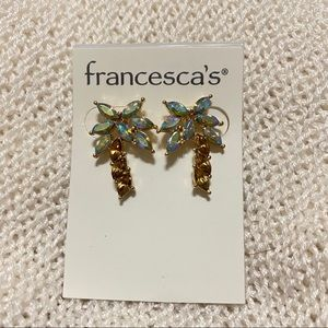 Francesca's Palm Tree Earrings